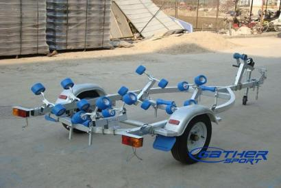 INFLATABLE BOAT TRAILER