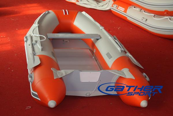 2.3M INFLATABLE ALUMINUM FLOOR BOAT GSA230