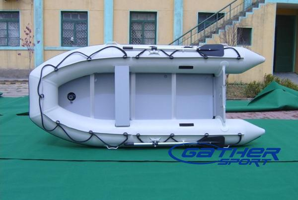 4.1M INFLATABLE ALUMINUM FLOOR BOAT GSA410