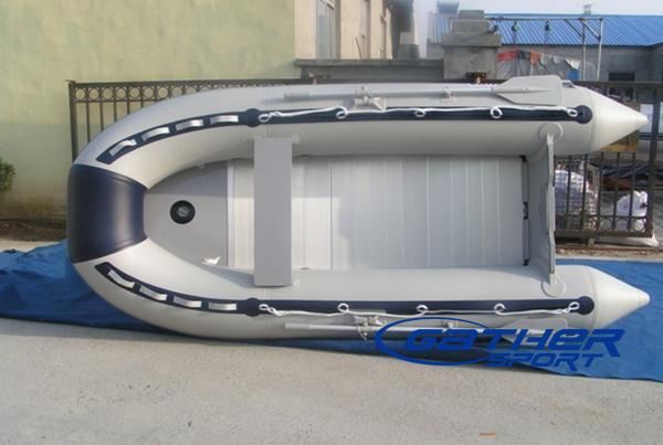 4.3M INFLATABLE ALUMINUM FLOOR BOAT GSA430