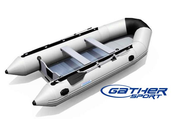 6.5M INFLATABLE ALUMINUM FLOOR BOAT GSA650