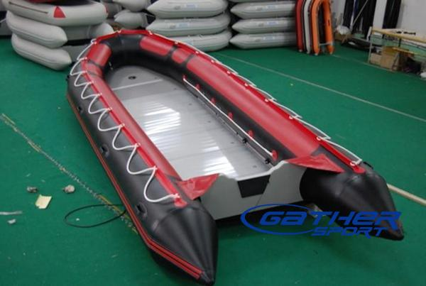 7M INFLATABLE ALUMINUM FLOOR BOAT GSA700