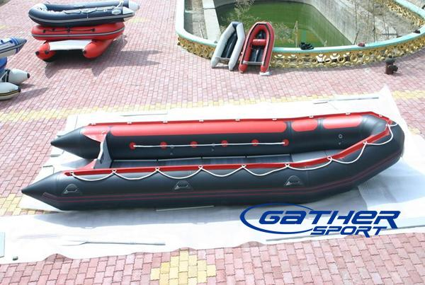 8.5M INFLATABLE ALUMINUM FLOOR BOAT GSA850