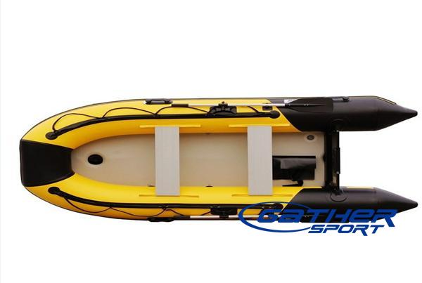3.8M INFLATABLE AIR FLOOR BOAT GSM380