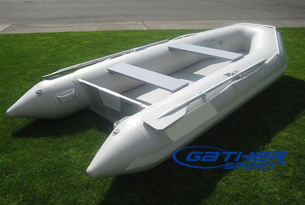 4.1M INFLATABLE AIR FLOOR BOAT GSM410