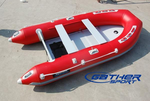 2.3M INFLATABLE PLYWOOD FLOOR BOAT GSP230