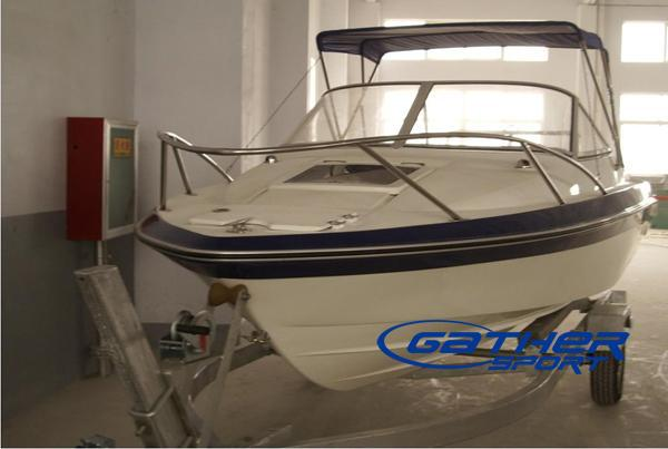 GATHER 18FT FRP CRUISER BOAT 550A