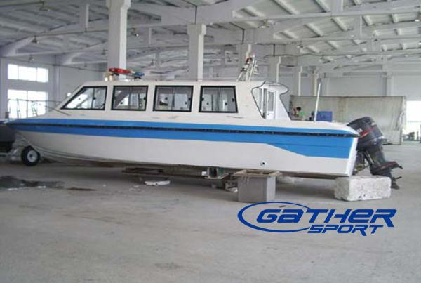 GATHER 8.6M FIBERGLASS PASSENGER BOAT