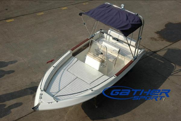4.83M FRP CENTER CONSOLE FISHING BOAT GS158