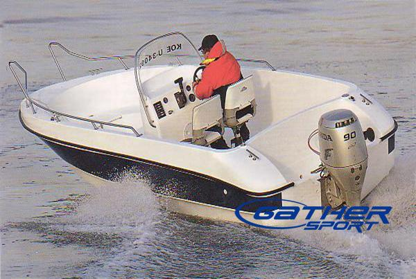 5.8M FRP CENTER CONSOLE FISHING BOAT GS580A