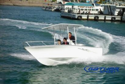 5.95M FRP CENTER CONSOLE FISHING BOAT GS195