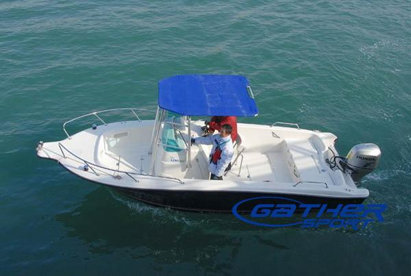 6.45M FRP CENTER CONSOLE FISHING BOAT