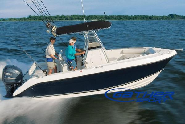 7M FRP CENTER CONSOLE FISHING BOAT GS230CC