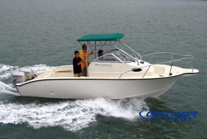 Manufacturers suppliers exporters for the fiberglass for Sport fishing boat manufacturers