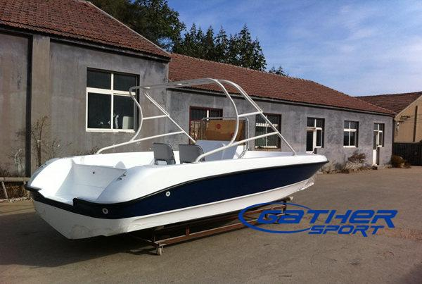 5.8M FRP CENTER CONSOLE FISHING BOAT GS580B