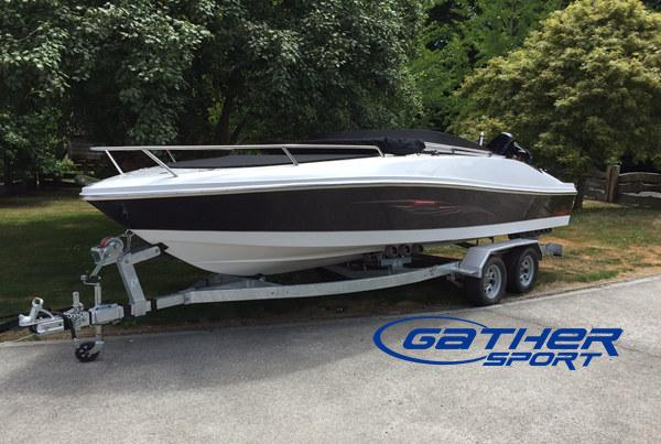 GATHER 5.82M FIBERGLASS SPORT BOAT GS190