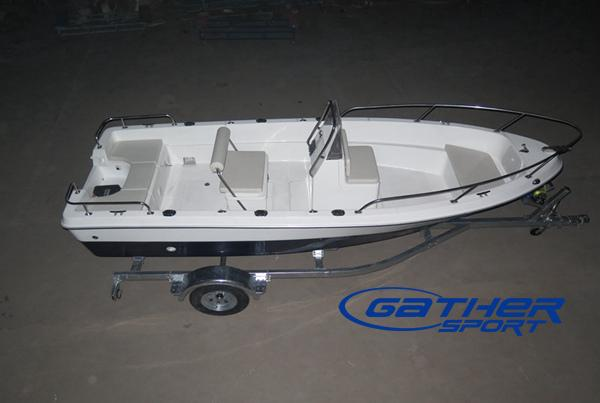 5M FRP CENTER CONSOLE FISHING BOAT GS500