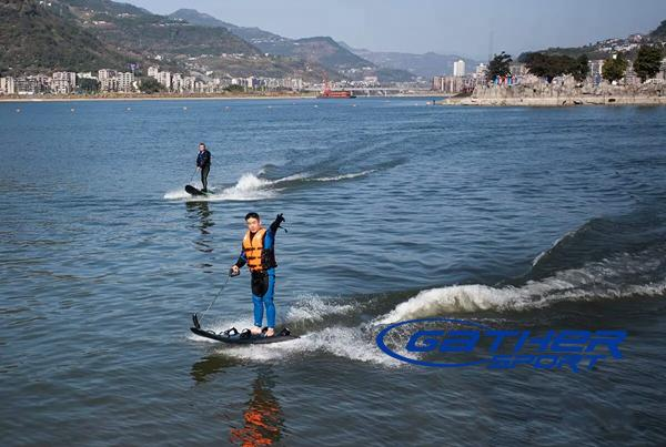 Gather Sport 90cc jet powered surfboard
